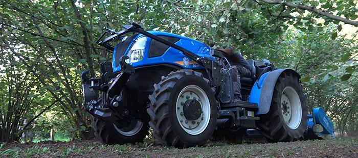 Tracteur t4fl bassotto - new holland