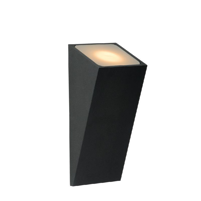 Appliques lucide achat vente de appliques lucide for Luminaire exterieur noir