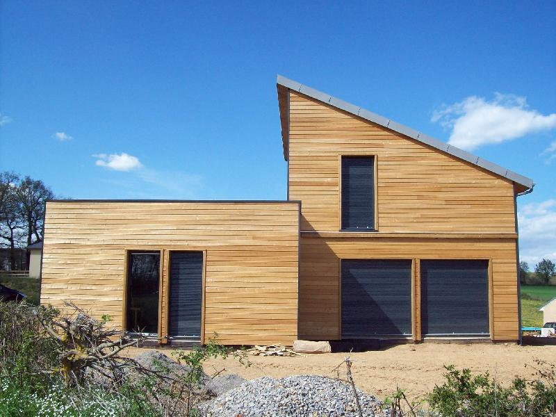 maisons a ossature en bois type osb