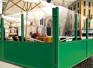 Paravents pour la restauration tous les fournisseurs for Paravent exterieur pour terrasse