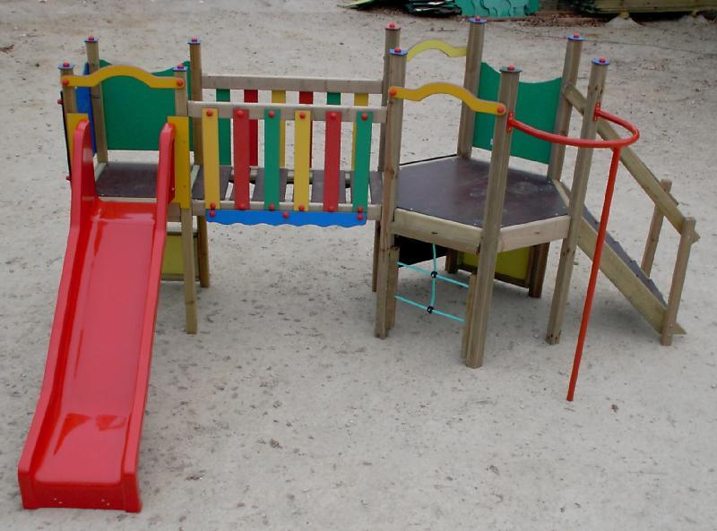 structure de jeux ja06. Black Bedroom Furniture Sets. Home Design Ideas