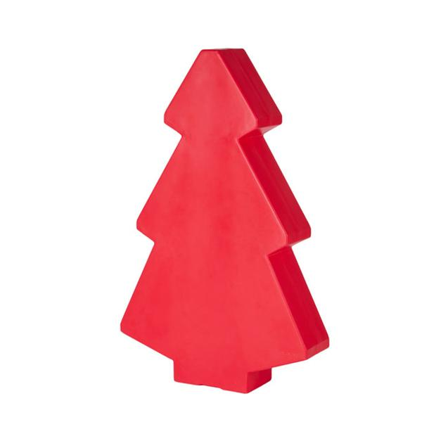 Lightree Sapin Lumineux D 39 Ext Rieur Rouge H100cm