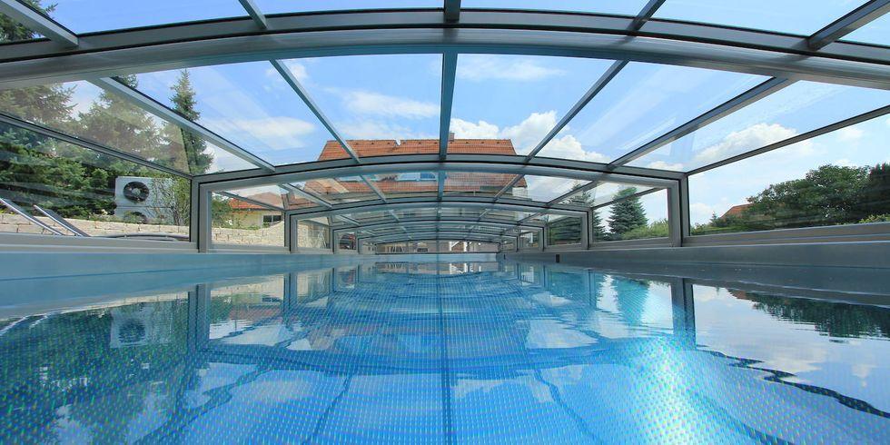 Abri de piscine bas paradiso limone glass 8 for Paradiso abris piscine