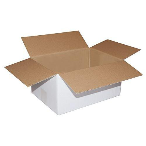 bo te d 39 exp dition carton blanc simple cannelure comparer les prix de bo te d 39 exp dition carton. Black Bedroom Furniture Sets. Home Design Ideas