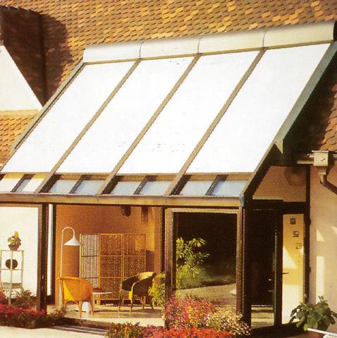 Volet roulant pour toit de veranda Volet pour fenetre de toit