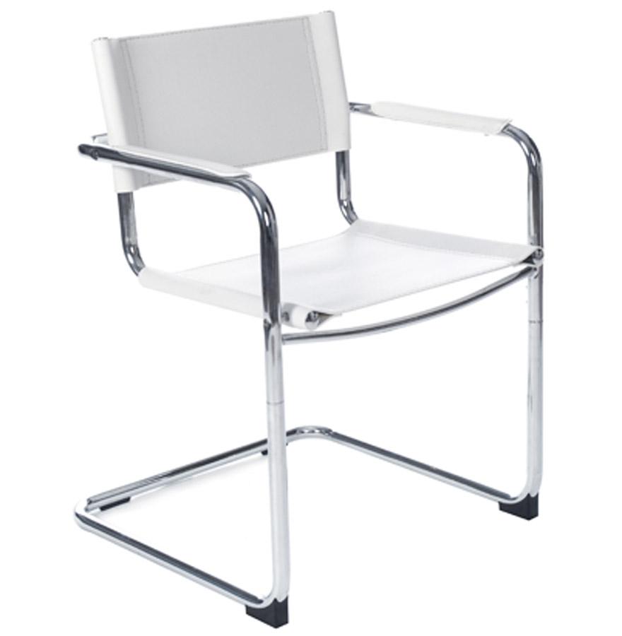 chaise d 39 accueil visiteur 39 ka 39 blanche pour bureau ou salle de r union comparer les prix de. Black Bedroom Furniture Sets. Home Design Ideas