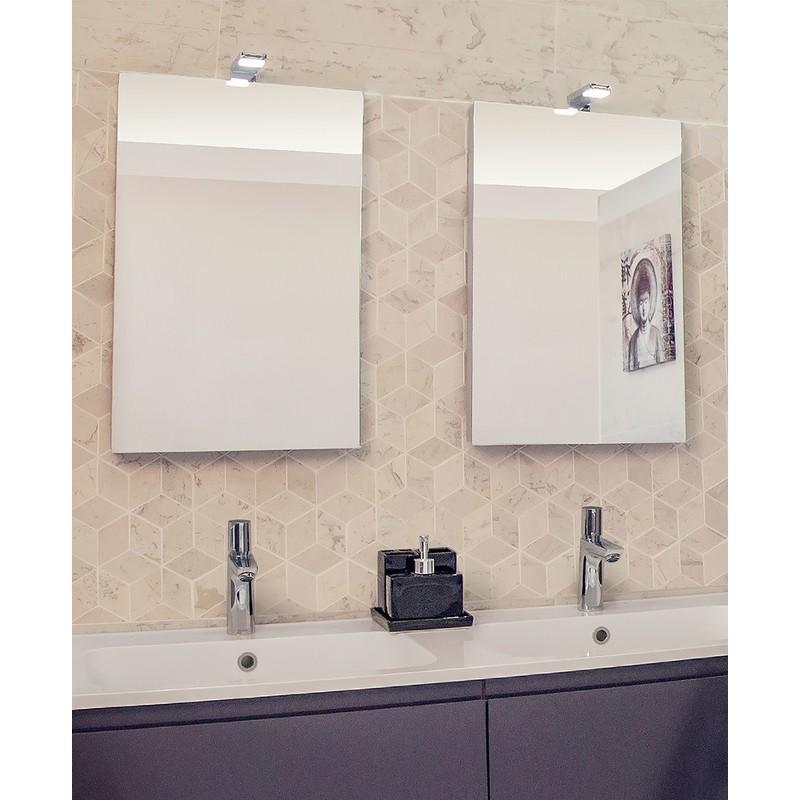 Miroir rond lumineux salle de bain tous les fournisseurs for Miroir largeur 40 cm