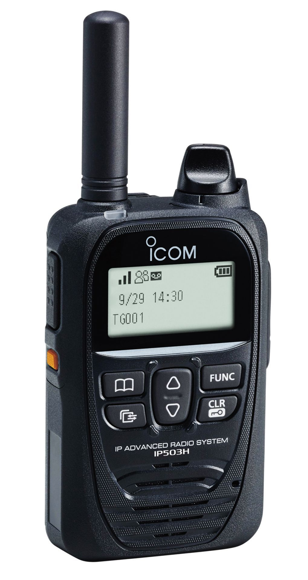 Portatif radio lte (4g) / 3g avec pti communication innovante icom ip503h