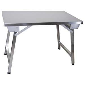 inox mmCHR Table 1400x700x850 DISCOUNTHellopro pliante AL4jR5