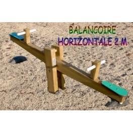 balancoire horizontale 2 m. Black Bedroom Furniture Sets. Home Design Ideas