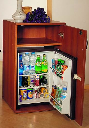 minibar type meuble bar bois refrigere 60 litres kleo kmb 60bbl. Black Bedroom Furniture Sets. Home Design Ideas