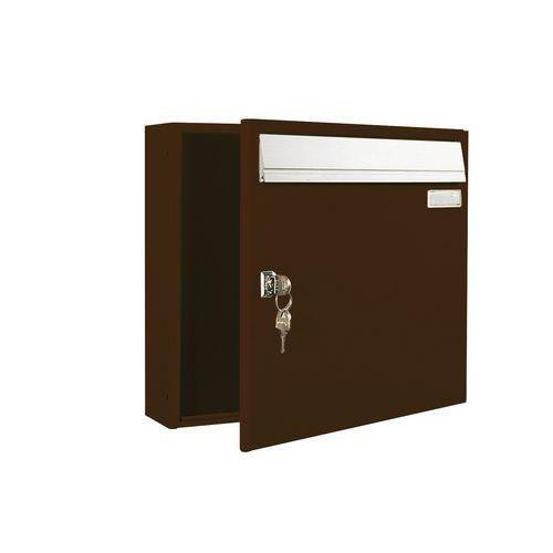 bo te aux lettres center mod le horizontal comparer les prix de bo te aux lettres center. Black Bedroom Furniture Sets. Home Design Ideas