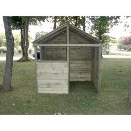 Cabane de jeu tous les fournisseurs playhouse enfant for Cabane exterieur en bois