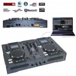 STATION DJ CD/MP3/USB/MIDI/BLUETOOTH