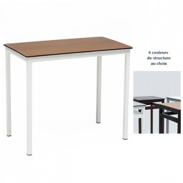 manger rectangulaire trz m43 Table 4 à cm 120x70 pieds EDWH92I