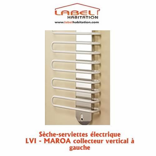 s che serviette lectrique maroa collecteur vertical gauche 750w lvi comparer les prix de. Black Bedroom Furniture Sets. Home Design Ideas