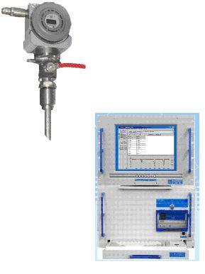 Analyseur de point de rosee d 39 eau et d 39 hydrocarbones for Point de rosee chaudiere bois
