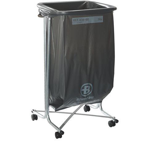 support de sacs poubelles roulettes 100 110 litres. Black Bedroom Furniture Sets. Home Design Ideas