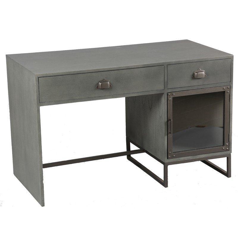 Bureau d 39 atelier industriel achat vente bureau d for Bureau 8 tiroirs