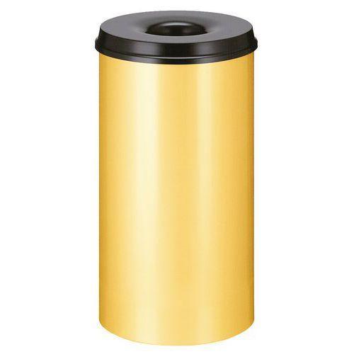 poubelle papier anti feu 50 l comparer les prix de poubelle papier anti feu 50 l sur. Black Bedroom Furniture Sets. Home Design Ideas