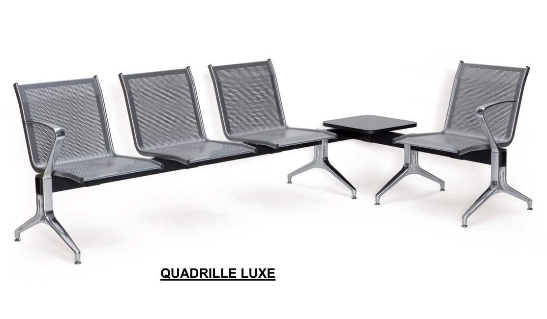 poutre d 39 accueil quadrille siege metal. Black Bedroom Furniture Sets. Home Design Ideas
