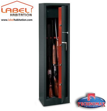 Armoire 192 Fusils Technomax Tch 5 Serrure 192 Cl 201