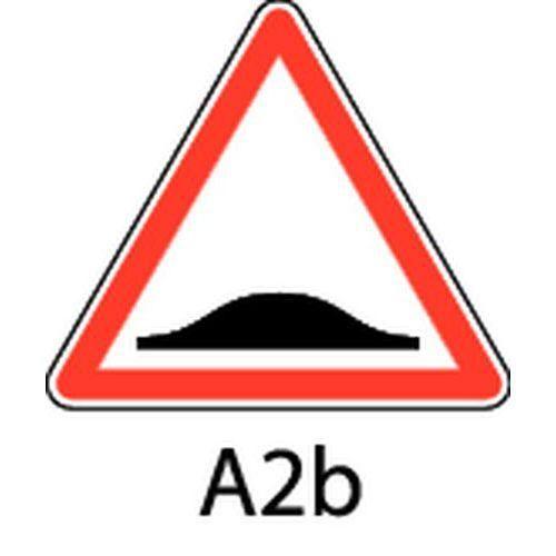 panneau de signalisation de danger a2b ralentisseur de. Black Bedroom Furniture Sets. Home Design Ideas