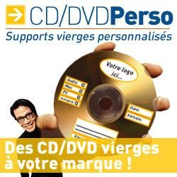 cd r dvd r perso supports vierges personnalises. Black Bedroom Furniture Sets. Home Design Ideas