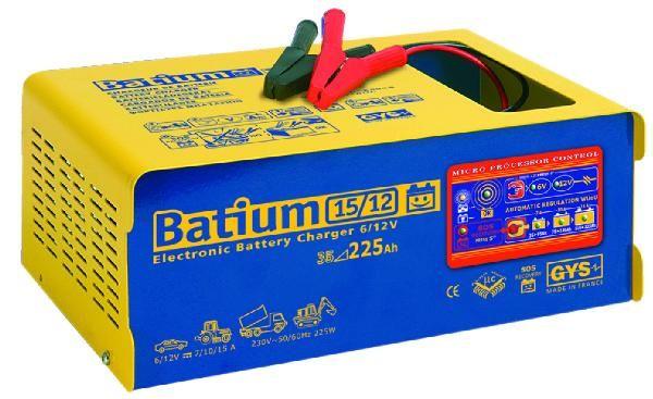 chargeur batterie automat batium 15 12 6 12v gys comparer les prix de chargeur batterie automat. Black Bedroom Furniture Sets. Home Design Ideas