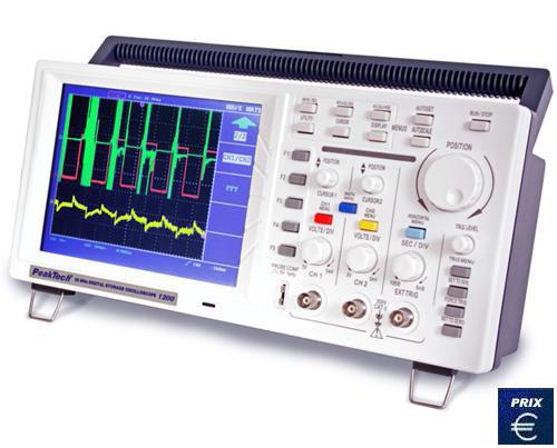OSCILLOSCOPE DE TABLE PKT-1200