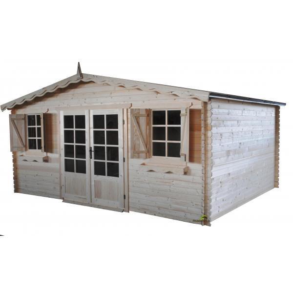 Abris de jardins tous les fournisseurs abri jardin for Garage bois autoclave 20 m2