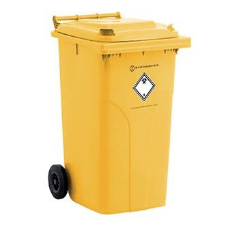Bacs plastiques dasri - conteneur dasri 240l