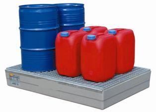 Bac de retention pour produits chimiques
