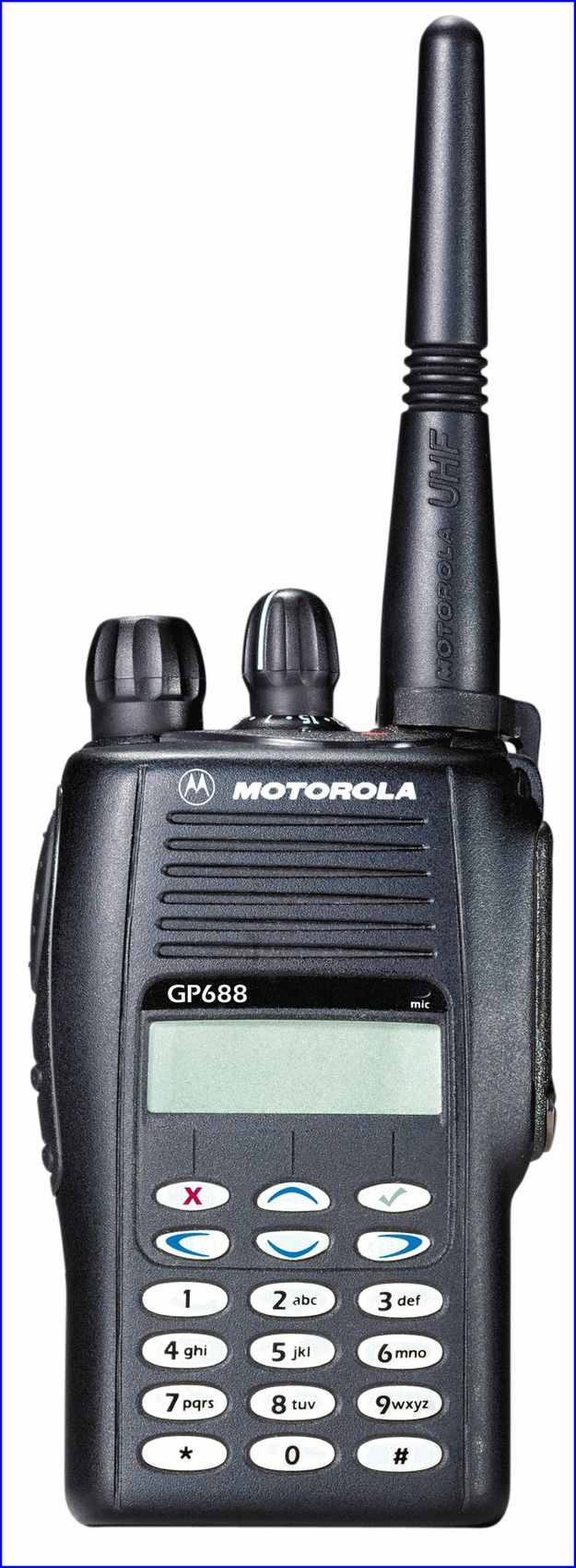 TALKIE-WALKIE PTI GP 388 MOTOROLA