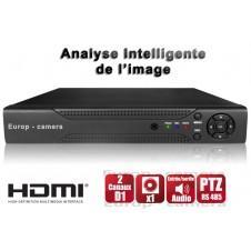 ENREGISTREUR NUMÉRIQUE 16 CANAUX H264  / REF : EC-DVR16C - HDMI - PLU