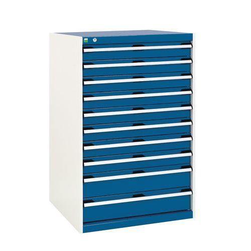 armoire d 39 atelier tiroirs bott sl 87 hauteur 120 cm. Black Bedroom Furniture Sets. Home Design Ideas