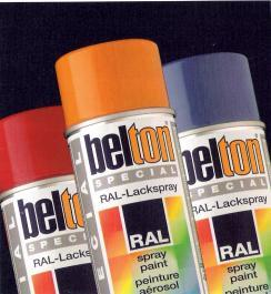 BELTON BOMBE PEINTURE SPECTRAL BRILLANTE RAL 3003 ROUGE RUBIS (324043)