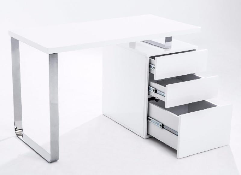 Table cuisine avec tiroir bureau blanc avec tiroir for Table avec tiroir cuisine