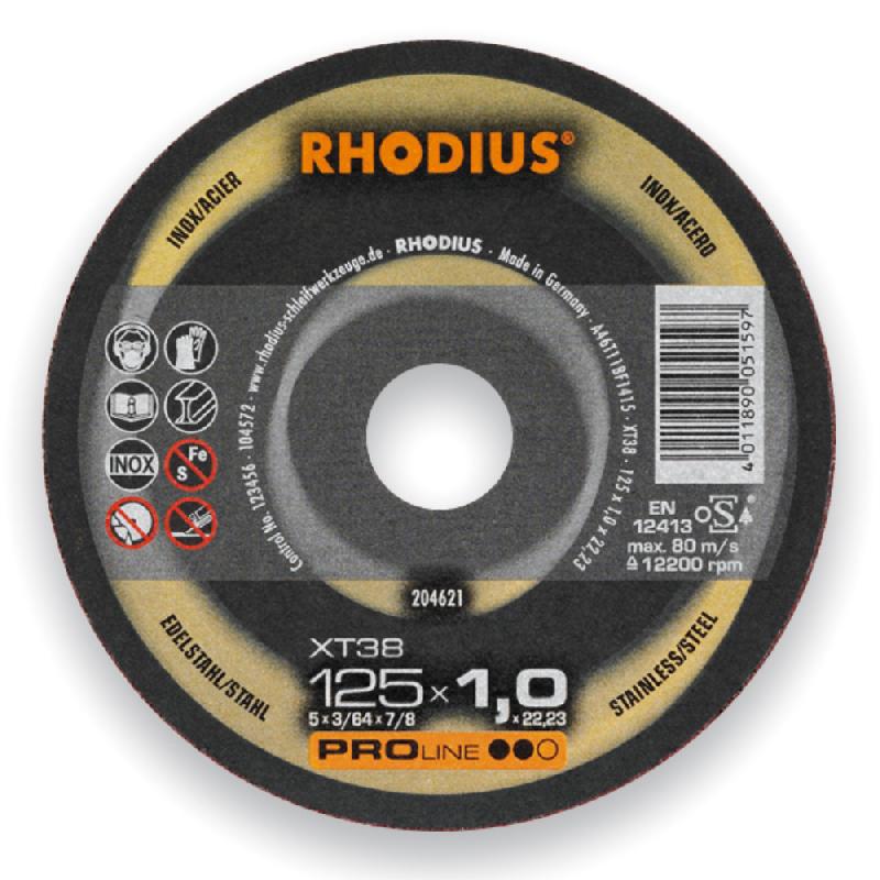 Disques abrasifs rhodius achat vente de disques - Disque a tronconner ...