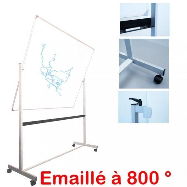 tableau rotatif maill blanc comparer les prix de tableau rotatif maill blanc sur. Black Bedroom Furniture Sets. Home Design Ideas