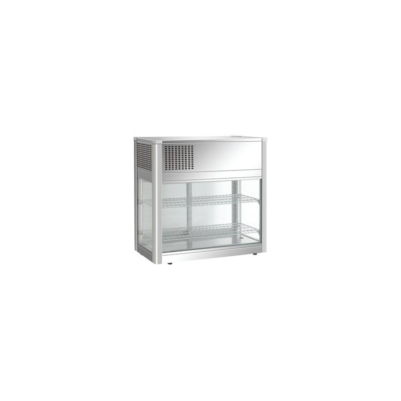 vitrine r frig r e de comptoir inox poser 160 litres comparer les prix de vitrine r frig r e. Black Bedroom Furniture Sets. Home Design Ideas