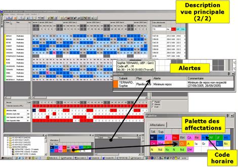Equitime produits logiciels de plannings for Logiciel plannification