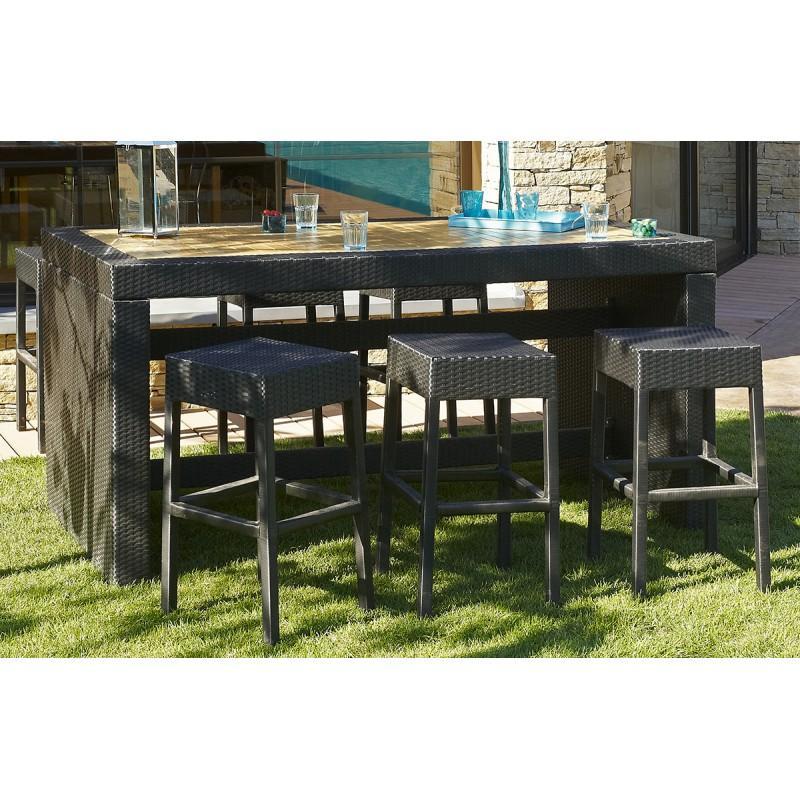 Si ge de bar en bois tous les fournisseurs de si ge de - Table bar avec tabouret ...