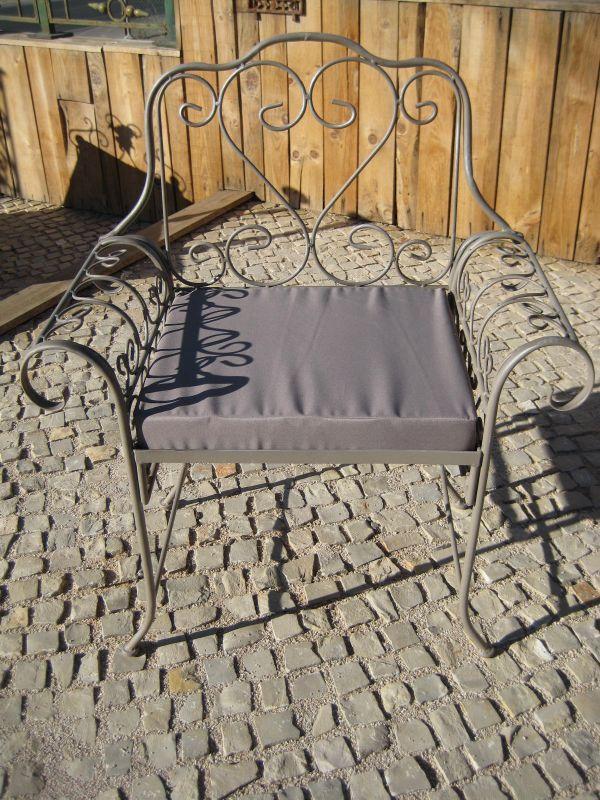 Photos chaises et fauteuils de jardins page 3 - Fauteuil en fer forge ...