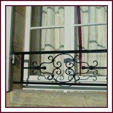 barre d 39 appuis tous les fournisseurs garde corps porte fenetre barreaudage balcon garde. Black Bedroom Furniture Sets. Home Design Ideas
