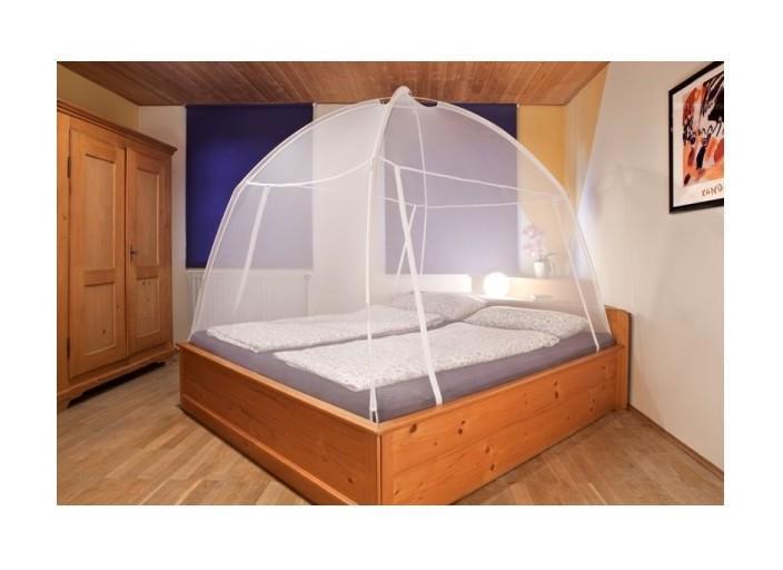 moustiquaire tente de lit amovible de voyage blanc taille l200xl150xh148cm hecht comparer. Black Bedroom Furniture Sets. Home Design Ideas