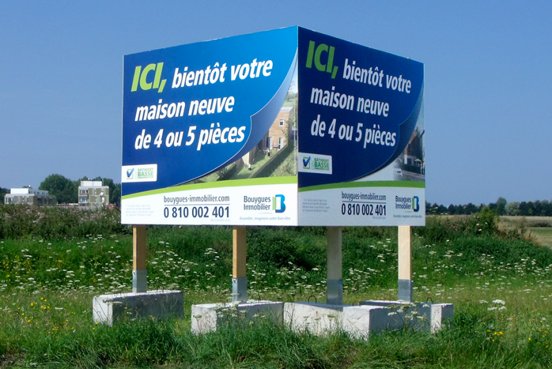 Publiplac produits panneaux d 39 affichage exterieur for Panneaux publicitaires exterieur