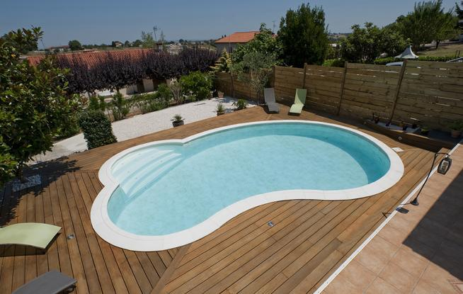 Z a piscines waterair produits piscine en kit for Piscine en bois d occasion