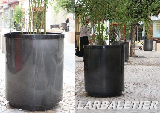 bac a plantes aluminium. Black Bedroom Furniture Sets. Home Design Ideas