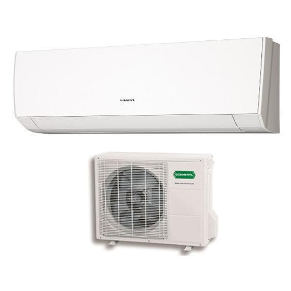 Climatiseur mono split r versible asg14ui lm 4000w 5000w for Air climatise mural prix